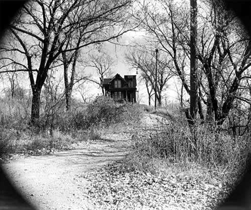 A Williams Hill home in the 1950s. Photographer Henry B. Hall (Henry Benbrooke.) Courtesy MNHS.