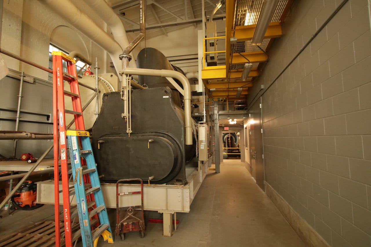 I was surprised and impressed by the cleanliness and organization inside the powerhouse.
