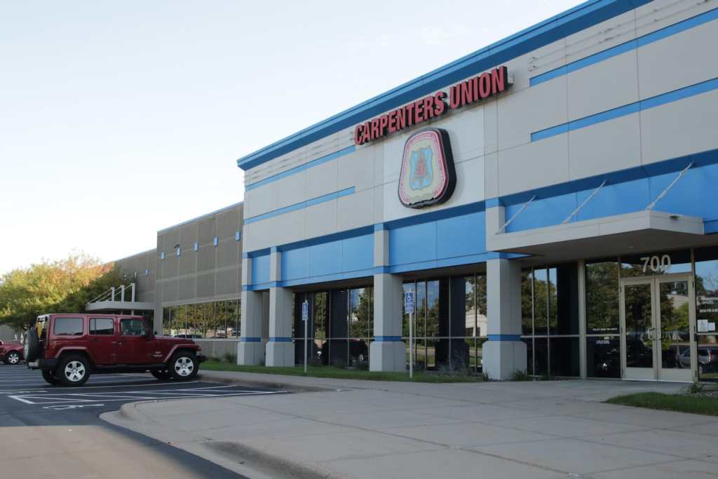 The Carpenters Union Local 322 is among the businesses within Williams Hill Business Center.