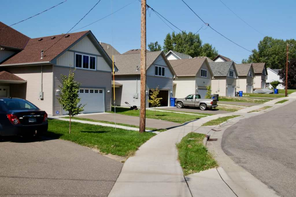 These homes are some of the 17 which received variances allowing the garages to exceed 60 percent of the homes' width and the main entrance not in the front third of the home.