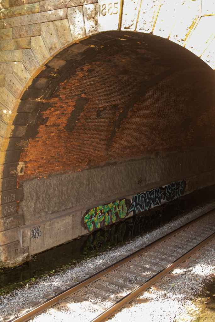 The earliest of the four tunnels was built in 1885.